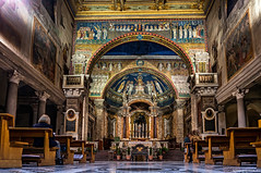 "Basilica di Santa Prassede • <a style=""font-size:0.8em;"" href=""http://www.flickr.com/photos/89679026@N00/15619817890/"" target=""_blank"">View on Flickr</a>"
