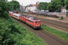 115 278  Mlheim - Styrum  25.05.14 (w. + h. brutzer) Tags: analog train germany deutschland nikon 110 eisenbahn railway zug trains 11 db locomotive lokomotive e10 elok eisenbahnen eloks mlheimstyrum webru