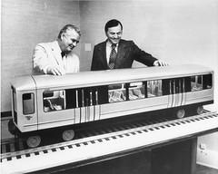 2400-series model in 1972 (cta web) Tags: railroad chicago cars train subway model modeltrain cta tracks railway trains transit 1970s chicagotransitauthority 2400series rapidtransit chicagohistory ctahistory 2400s