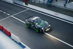 Back to the box (Alobooom) Tags: show rally ken block rossi valentino monza