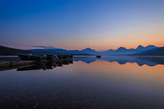 Lake McDonald - Montana (Jackpicks) Tags: reflection boats bravo glaciernationalpark lakemcdonald diamondclassphotographer flickrdiamond