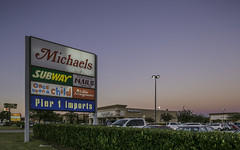 Baytown Plaza Shopping Center (Mabry Campbell) Tags: november usa signs sign retail architecture logo photography photo texas photographer exterior realestate unitedstates image baytown tx houston business photograph commercial sing storefront 100 24mm shoppingcenter sings brand client logos brands businesses fineartphotography f63 2014 retailer architecturalphotography retailers commercialphotography commercialrealestate commercialproperty commercialexterior architecturephotography jll retailcenter houstonphotographer storefrontsign sec tse24mmf35lii mabrycampbell retailshoppingcenter 20141124h6a0356 november242014 baytownplaza