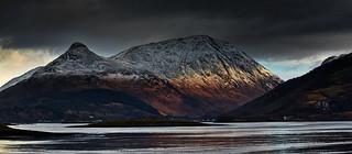 Sun on Sgorr nam Fiannaidh - Explored 08/12/14