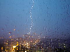 Semarang Storm Indonesia (Benicio Murray) Tags: travel storm rain weather indonesia java lightning semarang