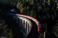 1116 132 mit EN 234 (TheKnaeggebrot) Tags: en taurus öbb weltkulturerbe semmering rinne viadukt breitenstein 1116 kalte euronight 1116132