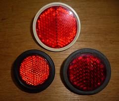 Bicycle reflectors (nasutushenri) Tags: bicycle lucas reflector sturmeyarcher