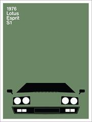 Print (Montague Projects) Tags: lotus 1976 esprit britishdesign carposter