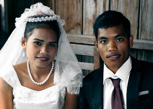 Filipino Wedding Couple #1 by philwarren, on Flickr