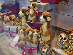 beim Kaufhof in Bonn ins Fenster geguckt (mama knipst!) Tags: spielzeug plüschtier