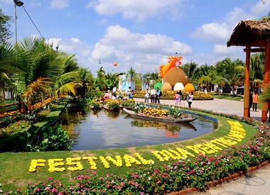 Hình ảnh Lễ hội dừa bến tre 2012