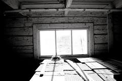 Window (necro production) Tags: wood old light sky sun white black window wodden