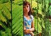 gazala_with_ferns (mazanos.jonathan) Tags: cute girl modeling littlegirl younggirl 11yo 10yo gazala