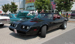 Black Pontiac Firebird (The Rubberbandman) Tags: street blue school hot hardtop car america sedan germany us am big muscle dream oldschool bumper chrome german american formula firebird pro hotrod vehicle beast rod pontiac trans rims coupe meet transam coup oldenburg musclecar motorshow bluecar blower chromerims prostreet pontiacfirebird pontiacfirebirdtransam