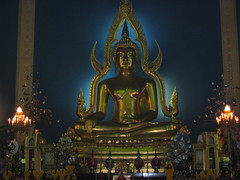 Sitting Buddha in Bangkok