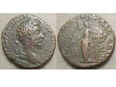 Marcus Aurelius (Baltimore Bob) Tags: money rome bronze persian coin ancient war marcus roman propaganda persia victory empire copper imperial emperor aurelius commemorative parthian parthia sestertius sesterce