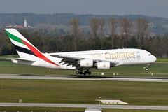 A6-EDJ (airlines470) Tags: 9 emirates msn muc a38 a380800 a380861 a6edj