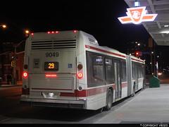 Toronto Transit Commission #9049 (vb5215's Transportation Gallery) Tags: toronto bus nova ttc transit commission artic lfs 2014