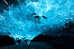 Iceland March 2015 (Arnold van Wijk) Tags: blue winter snow landscape march iceland blauw sneeuw glacier landschap isl maart icecave vatnajkull austurland gletsjer ijsland breiamerkurjkull ijsgrot