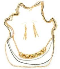 5th Avenue Gold Necklace P2011A-3