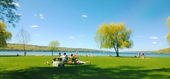 Perfect summer day (Tinted_glass) Tags: picnic sunny ithaca cayuga