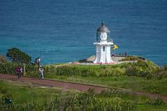 Cape Reinga Lighthouse (fotofrysk) Tags: newzealand lighthouse track path tourists northisland visitors northland capereinga nikond7100
