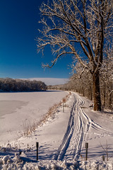 The View Downstream (114berg) Tags: winter storm canal illinois aftermath parkway hennepin geneseo 03feb15