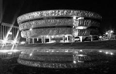 Spaceship (d1pinklady) Tags: moon reflection building statue liberty virginia memorial war shrine downtown great richmond flame torch capitol va memory spaceship flintstones kazoo eternal