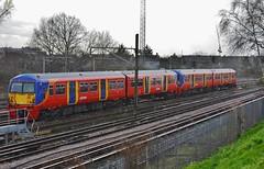 FourFiveSix.... (stavioni) Tags: west electric train south rail railway trains multiple emu wimbledon unit swt class456 456014 456006