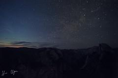 Half Dome at Dusk (Harris Clayton) Tags: california sunset stars photography yosemitenationalpark harris harrisclayton