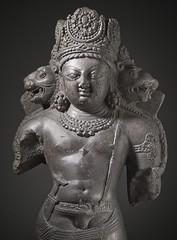 The Hindu God Vishnu LACMA M.69.13.2 (7 of 17) (Fæ) Tags: wikimediacommons capturedeviceleafaptusdigitalback photographersoliver departmentsouthandsoutheastasianart imagesfromlacmauploadedbyfæ sculpturesfromindiainthelosangelescountymuseumofart vaikunthachaturmukha
