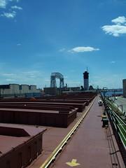 (mestes76) Tags: minnesota yellow ships bridges arrows duluth aerialliftbridge williamairvin 070414 shiptours