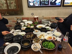 Diner met Sergey en Jae