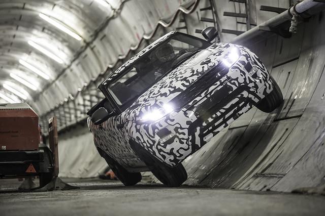 uk london convertible testing prototype winner suv rangerover evoque halewood rangeroverevoque premiumcompactsuv undergroundtesting evoqueconvertible