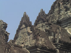Detailed Stone on Siem Reap Temples