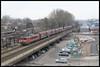 14-02-2014, Delft, DBS 1612 + Staaltrein (Koen langs de baan) Tags: 30 delft dt dbs 1612 shimmns luchtspoor staaltrein 61601