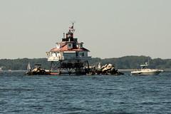 Thomas Point Shoal Lighthouse, Maryland (lighthouser) Tags: usa lighthouse maryland thomaspoint lighthousetrek thomaspointshoal