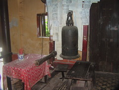 Old Bell in HCMC Pagoda