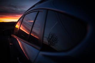 Crosstreck Sunset