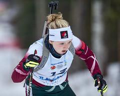 Biathlon2015_02_17 (74) (Don Voaklander) Tags: woman snow man ski male men female race women gun lap target poles skis princegeorge otway 2015canadawintergames voaklander donvoaklander