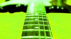"Fender Stratocaster ""fiction version"" (fabian.drozd2404) Tags: fiction macro green neon bokeh guitar fender strings stratocaster"