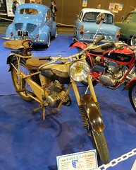 MOTOBECANE D45 S (1954) 125 cc (xavnco2) Tags: 1954 motorbike exposition moto bourse motobecane 125 arras motorrad 2015 ravera d45 d45s monocylindre