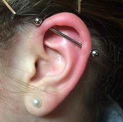Industrial piercing by Taylor Bell