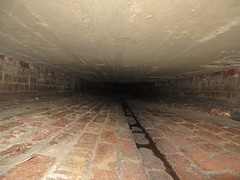 Why so small? (tamzramz.tamzramz) Tags: underground melbourne tunnel drain urbanexploration solo stoop crawlspace ue drains urbex underyourfeet ineednewshoes goindrains skateboardmission soloyolo