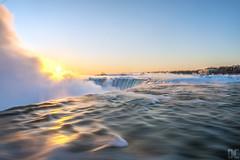 (David Crombie Photography) Tags: longexposure canada sunrise niagarafalls leefilters leesw150 derelictcompositions davidcrombiephotography