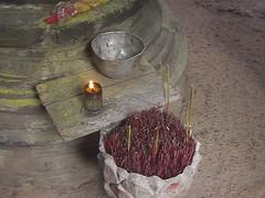 Incense Offering Angkor Wat
