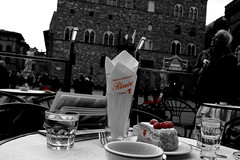 Au revoir (Starry Mountain) Tags: food florence dolce firenze piazza caff zuppa caf inglese signoria lamponi rivoire