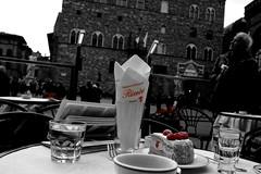 Au revoir (Starry Mountain) Tags: food florence dolce firenze piazza caffè zuppa cafè inglese signoria lamponi rivoire