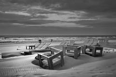 After the Storm (Pieter Musterd) Tags: storm holland strand canon nederland thenetherlands noordzee denhaag canon5d nl paysbas thehague niederlande zuidholland kijkduin banken stoelen tafels musterd pietermusterd sgravenhage canon5dmarkii haagspraak pmusterdziggonl