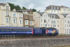43027 Dawlish 16/07/16 (yamdood91) Tags: uk train first rail railway hst 90years dawlish 2016 greatwestern class43 fgw 43027 queencelebrations