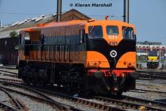 071 at Connolly, 19/7/16 (hurricanemk1c) Tags: dublin irish train gm rail railway trains railways irishrail generalmotors supertrain 2016 emd connolly 071 iarnrd ireann iarnrdireann retrotrain